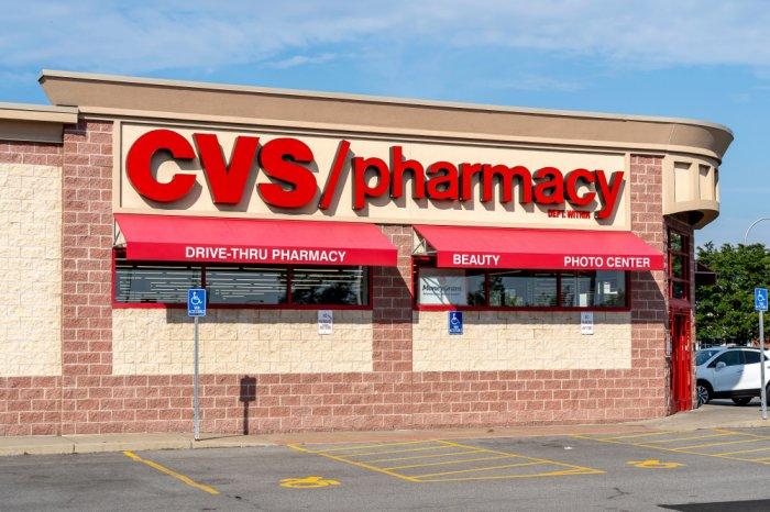 Exterior of a CVS Pharmacy store