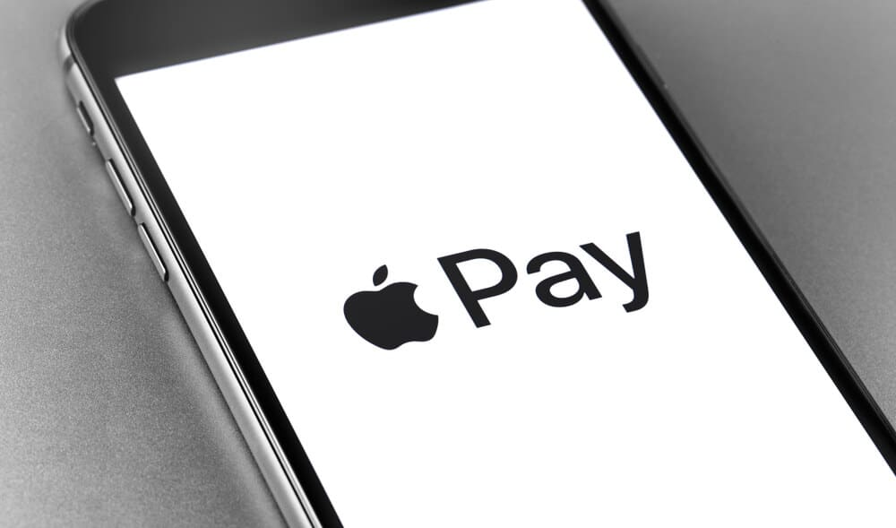 Apple Pay logo on a phone