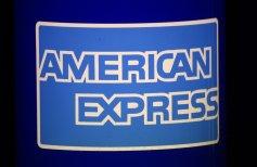 Blue American Express logo