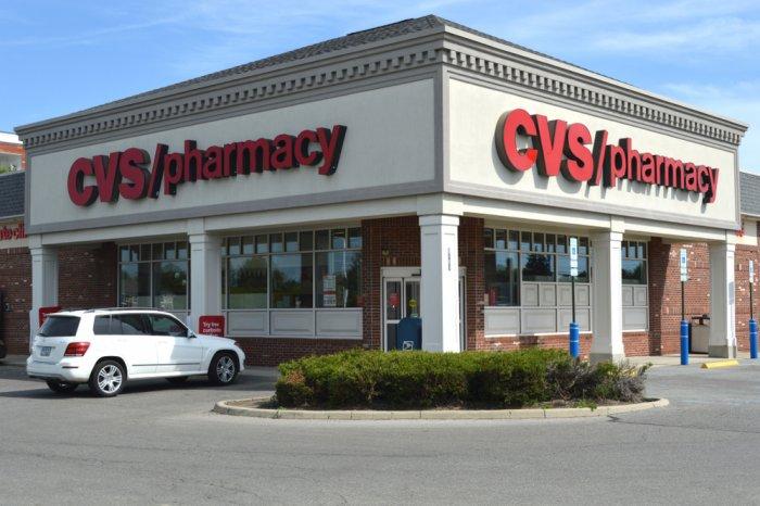 Exterior of a CVS pharmacy