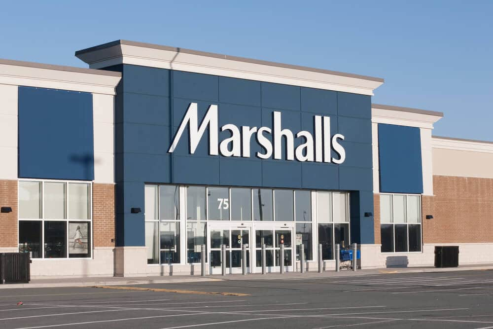 Marshalls off-price retailer storefront