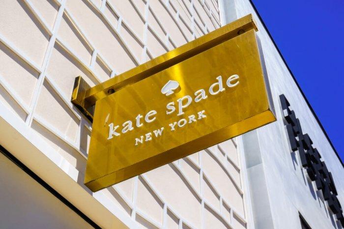 Kate Spade sign