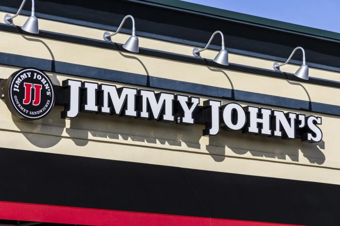 Jimmy John's sign