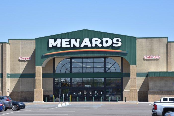 Exterior of a Menards store