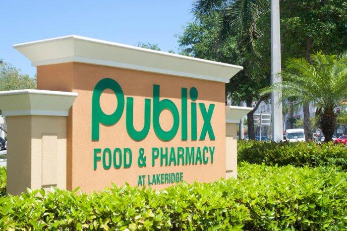 Publix sign