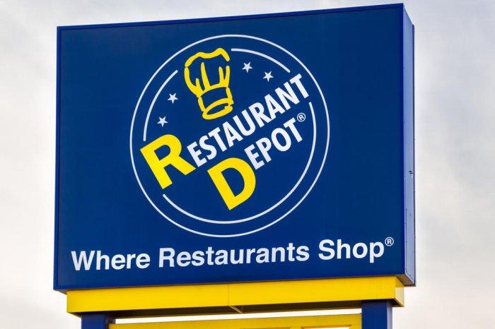 Restaurant Depot sign