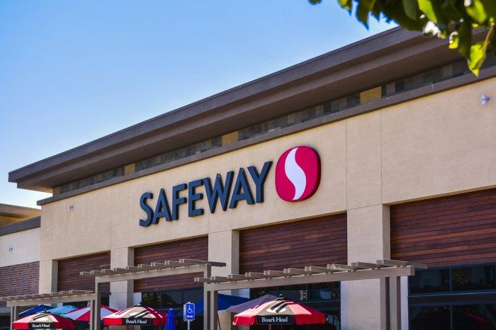 Exterior of a Safeway store