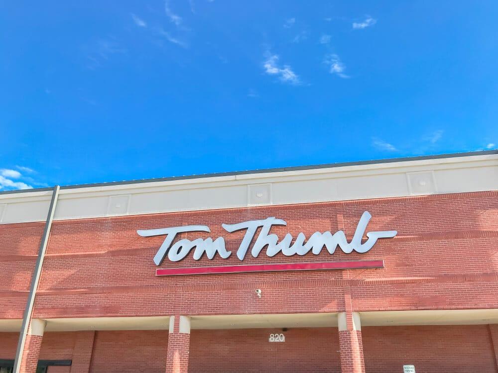 Exterior of a Tom Thumb store