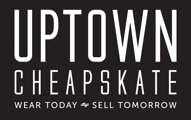 Uptown Cheapskate logo