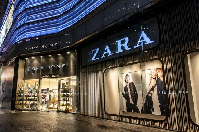 Exterior of a Zara store