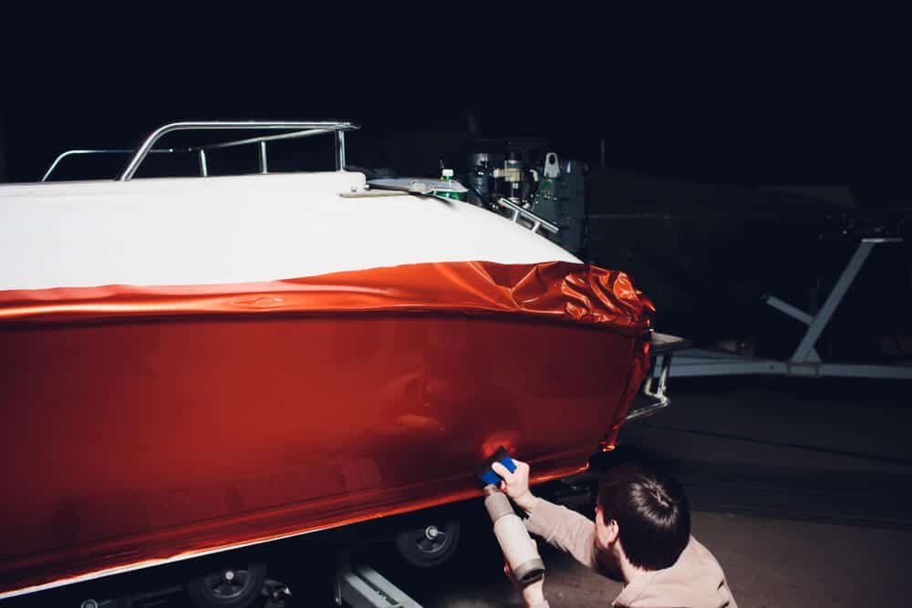 Vinyl Boat Wrap Price Information Cost Per Boat Type Cost Vs Paint