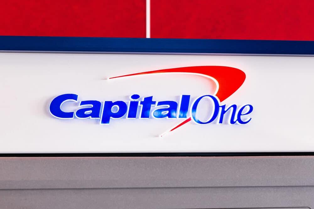 Capital One Logo On Building