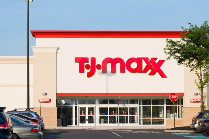 Exterior of a T.J. Maxx store
