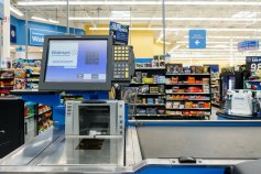 Walmart checkout register